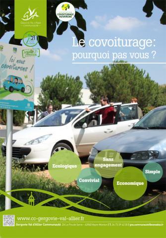 Le schéma intercommunal des déplacements établi en 2013 le montre : l'usage de la voiture individuelle est prédominant sur le territoire de Gergovie Val d'Allier Communauté, ce qui tend à poser des problèmes en termes d'aménagement et d'environnement. Or, si 30 à 40 % des salariés du territoire se disent prêts à covoiturer, à peine 3 [...]