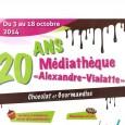 >>>Chocolat et gourmandise sont à l'affiche pour fêter les 20 ans de la médiathèque >>>Le guide de la médiathèque : services, services en ligne, horaires, modalités d'inscriptions, tarifs…