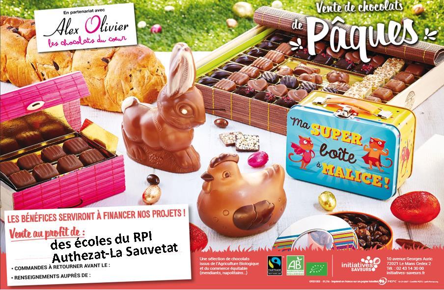 affiche chocolat