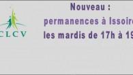 La CLCV met une permanence en place à Issoire>>>affiche permanence à Issoire Association de consommateurs «citoyens», la CLCV (Consommation Logement Cadre de Vie) agit dans quatre secteurs: le logement, la consommation, l'environnement et la santé.  Ses missions sont diverses:   tenir des permanences de défense des consommateurs,  enquêtes de consommation,  défense des locataires,  information et formation de [...]