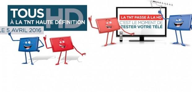 Le 5 avril 2016, la télévision numérique terrestre (TNT) passe à la haute définition (HD). >>>La lettre du 06 02 2016  Il est donc primordial de tester dès à présent la compatibilité de vos téléviseurs afin d'acquérir un équipement TNT HD avant le 5 avril pour chacun des postes non compatibles, sous peine de ne plus [...]