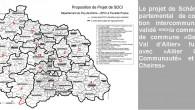 Le lien ci-contre vers le site de la préfecture du Puy-de-Dôme vous permet de consulter notamment l'arrêté préfectoral arrêtant le SDCI au 30 03 2016, le Schéma Départemental de Coopération Intercommunal du 30 03 2016, la carte du SDCI et les documents préparatoires http://www.puy-de-dome.gouv.fr/schema-departemental-de-cooperation-intercommunale-a5355.html