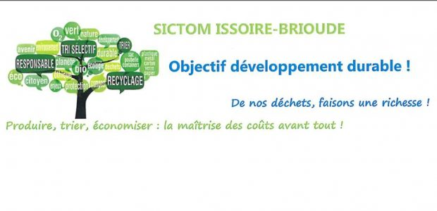 Le SICTOM Issoire-Brioude  Partagez