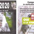 Actuellement deux campagnes de stérilisation des chats sont en cours :    Campagne SOS Animaux le Broc : destinée aux particuliers qui ne payent pas d'impôts sur le revenu pour obtenir un bon de réduction (environ 30%) pour les stérilisations des animaux dont ils sont propriétaires ; des bons de stérilisations seront délivrés la manifestation vide grenier [...]