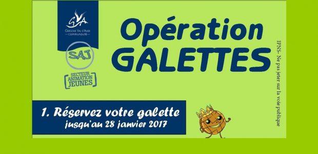 Dans le cadre d'un projet de jeunes pour partir en séjour, les jeunes du SAJ (Secteur Animation Jeunes) proposent une opération galette à Authezat tous le mois de janvier. >>>procédure de réservation d'une galette Partagez