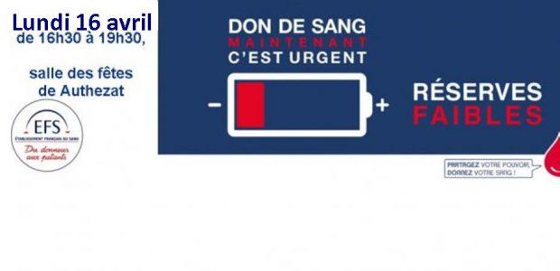 >>>Le courrier de l'Etablissement Français du Sang  Partagez