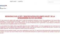 Plusieurs équipes de cambrioleurs ont été interpellées sur le Puy de Dôme en date du 02/03/2018. Le site internet répertoriant les bijoux et objets retrouvés lors de cette opération gendarmerie sera opérationnel le 04 mai 2018 à l'adresse suivante : https://www.caj.ggd63.fr/ Ce site internet sera largement diffusé dans les médias et sur le facebook gendarmerie du Puy de [...]