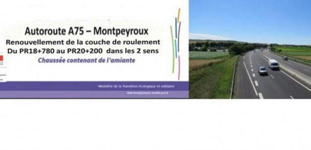 >>>Le dossier de presse explicatif >>>L'arrêté préfectoral n°2018-N-033 règlementant temporairement la circulation sur l'autoroute A75 dans le département du Puy-de-Dôme Partagez