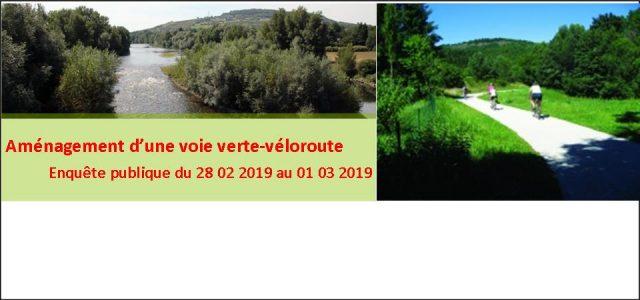 Une enquête publique unique sur le projet de Pôle d'Equilibre Territorial et Rural (PETR) du Grand-Clermont, d'aménager une voie verte-véloroute de l'Allier entre Authezat et Pont-du-Château, s'inscrivant sur le territoire des communes d'Authezat, Corent, Cournon-d'Auvergne, La Roche-Noire, Les Martres-de-Veyre, Mirefleurs, Mur-sur-Allier, Pérignat-sur-Allier et Pont-du-Château est prescrite par arrêté du 07 décembre 2018 >>>Arrêté préfectoral du [...]