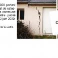 L'arrêté du 29 avril 2020 portant reconnaissance de l'état de catastrophe naturelle pour la commune de Authezat vient d'être publié (vendredi 12 juin 2020), au Journal Officiel. Vous disposez de 10 jours pour faire le nécessaire auprès de votre assureur. Vous pouvez lui fournir l'arrêté consultable >>>ici    L'été 2019 a été particulièrement sec. Si des désordres sur vos [...]