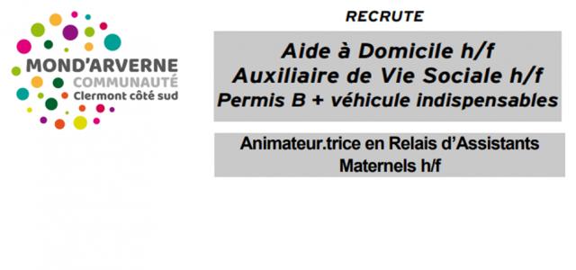 Annonce aide à Domicile été 21 Emploi animateur.trice RAM-1-1