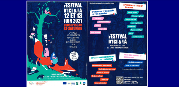 Plus d'infos => https://www.mond-arverne.fr/actualites/festival-dici-la-2021/ Partagez