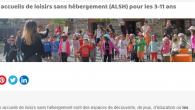 Destinés au 3-11 ans, les accueils de loisirs sans hébergement (ALSH) pour les jeunes du territoire de Mond'Arverne communauté fonctionne toute l'année (sauf pendant les vacances de fin d'année). Toutes les informations depuis le portail de Mond'Arverne Communauté https://www.mond-arverne.fr/vivre-et-grandir/centres-de-loisirs/ Les nouveaux tarifs applicables au 1er septembre 2021, pour toutes les prestations en matière d'ALSH >>>ALSH_Tarifs-Sept 2021