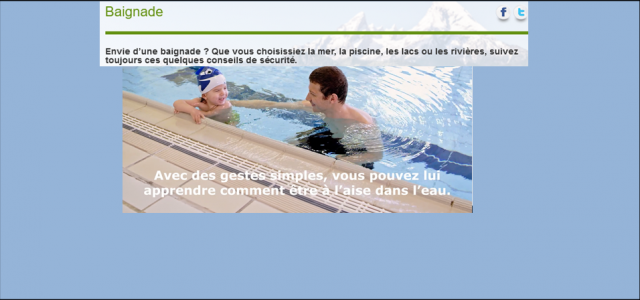 >>>S'informer sur la prévention des noyades