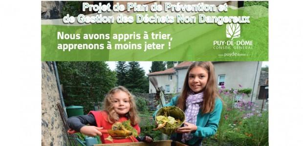 Porté à connaissance du dossier soumis à enquête publique relative au projet de Plan de Prévention et de Gestion des Déchets Non Dangereux du Puy-de-Dôme (PPGDND) en suivant ce lien http://www.puydedome.fr/?PARAM10498=IdInfLoc_93458 Cette enquête aura lieu du 16 juin au 18 juillet 2014. Partagez