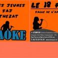 Animation karaoké :  Mercredi 18 février, aura lieu à Authezat une animation Karaoké, salle de l'amicale, de 14h à 17h. L'animation, organisée par le SAJ, est gratuite et réservée aux jeunes du SAJ sur inscriptions (12 places). >>>clic pour agrandir >>>autorisation parentale karaoké authezat 18-02-15    + d'infos sur www.sitesaj.ici.st ou au 04 73 39 76 29