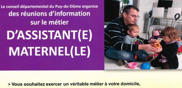 >>> Consultez les dates proposées pour des réunions d'information sur le métier d'assistant(e) maternel(le) Partagez