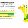 >>Message d'alerte de la Préfecture du Puy-de-Dôme : vigilance météorologique orages de niveau orange
