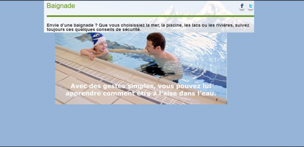 >>>S'informer sur la prévention des noyades Partagez